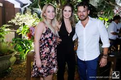 Bruna Rabboni, Nathalia Thierch e Anderson Barbosa