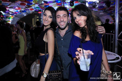 Isis Dario,  Jeremy Sisselan e Aline Andrelo