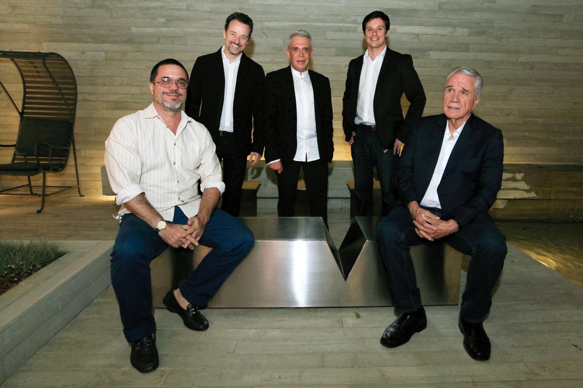 Beto Cocenza, Christian Kadow, Leo Shehtman, Keneth Kadow Filho e Keneth Kadow_0