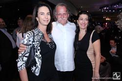 Betina Samaia, Claudio Edinger e Carola Matarazzo