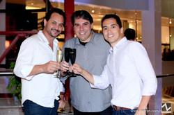 Geraldo Queiroz, Luiz Cafe e Leandro Queiroz