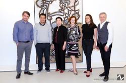 Lorenzo Vigas, John Frasser, Belgica Rodrigues, Katja Weitering, Dilia Hernandez e Jowa I. Kis-Jovak