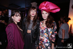 Carolina Pepper, Lia Paris e Soraia Costa