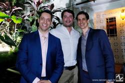 Ed Mendes, Danilo Camargo e Flavio Moreno