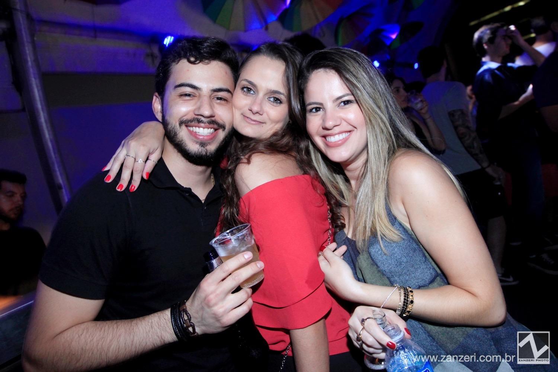 Lucas Gaspar, Fernanda Padua e Daiane Araujo