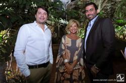 Danilo Camargo, Rossana Schrappe e Gui Calil