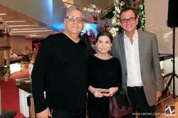 Ricardo Rossi, Marilena Pacios e Murilo Schatan