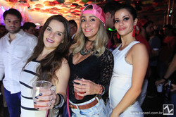 Caroline Rodrigues, Michelle Amaro e Fernanda Coimbra
