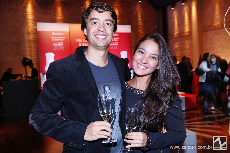 Luiz Carlos do Carmo Oliveira e Barbara Juck