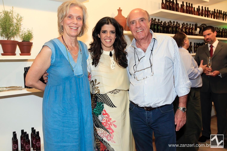Gisela Heise, Cris Dios e Jose Eduardo Passos