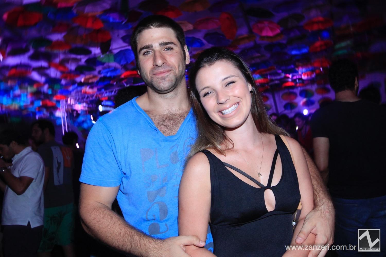 Bruno Nahas e Bruna Fernandes