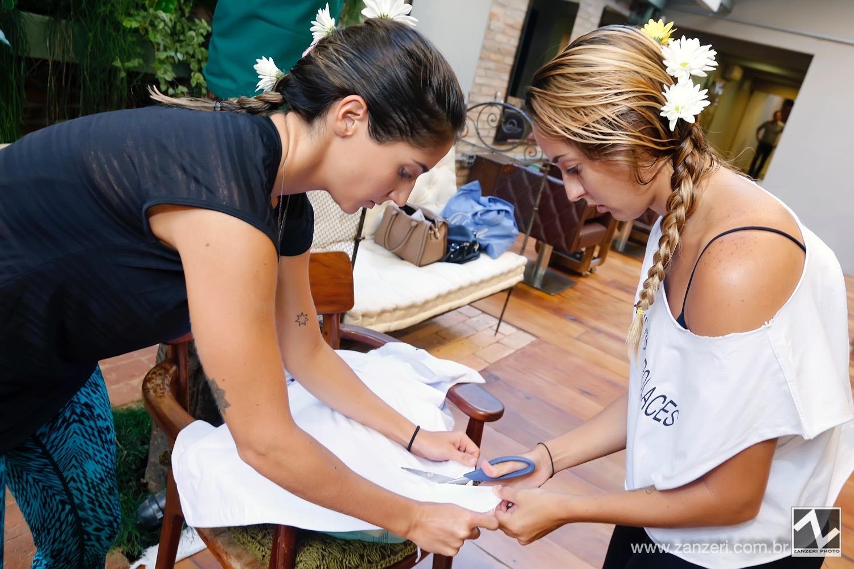 Carla Cohen e Nina Anhaia Mello