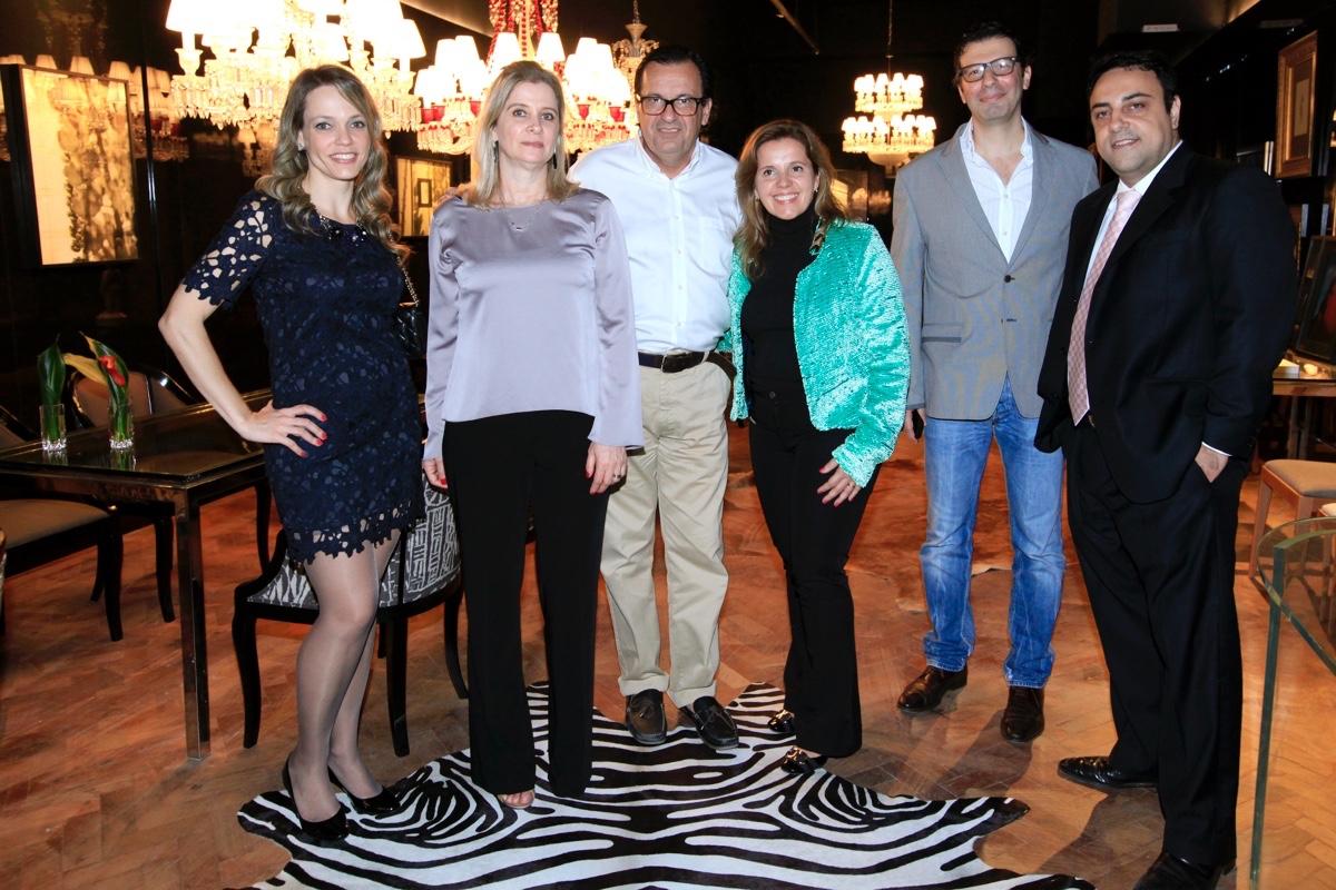 Ludmila Lepri, Vania Ceccotto, Haroldo Rodrigues, Andrea Gonzaga, Marcio Michalu