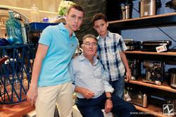 Jose Gabriel, Jose Poveda e Joao Pedro Poveda