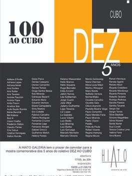 """""""100 ao Cubo"""""""