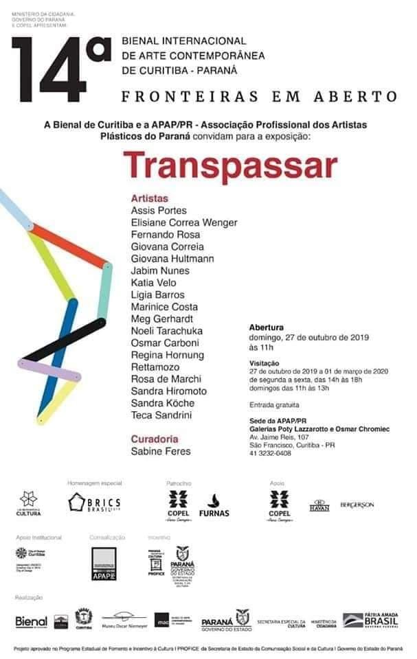 14ª Bienal Internacional de Arte Contemporânea - Curitiba -PR