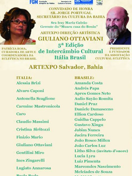 Artexpo - Museu Casa do Benin Salvador - Bahia | Galleria d´Arte Associazione Culturale Eclettica Wo