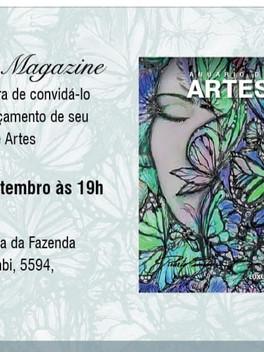 1º Anuário de Artes - Luxus Magazine