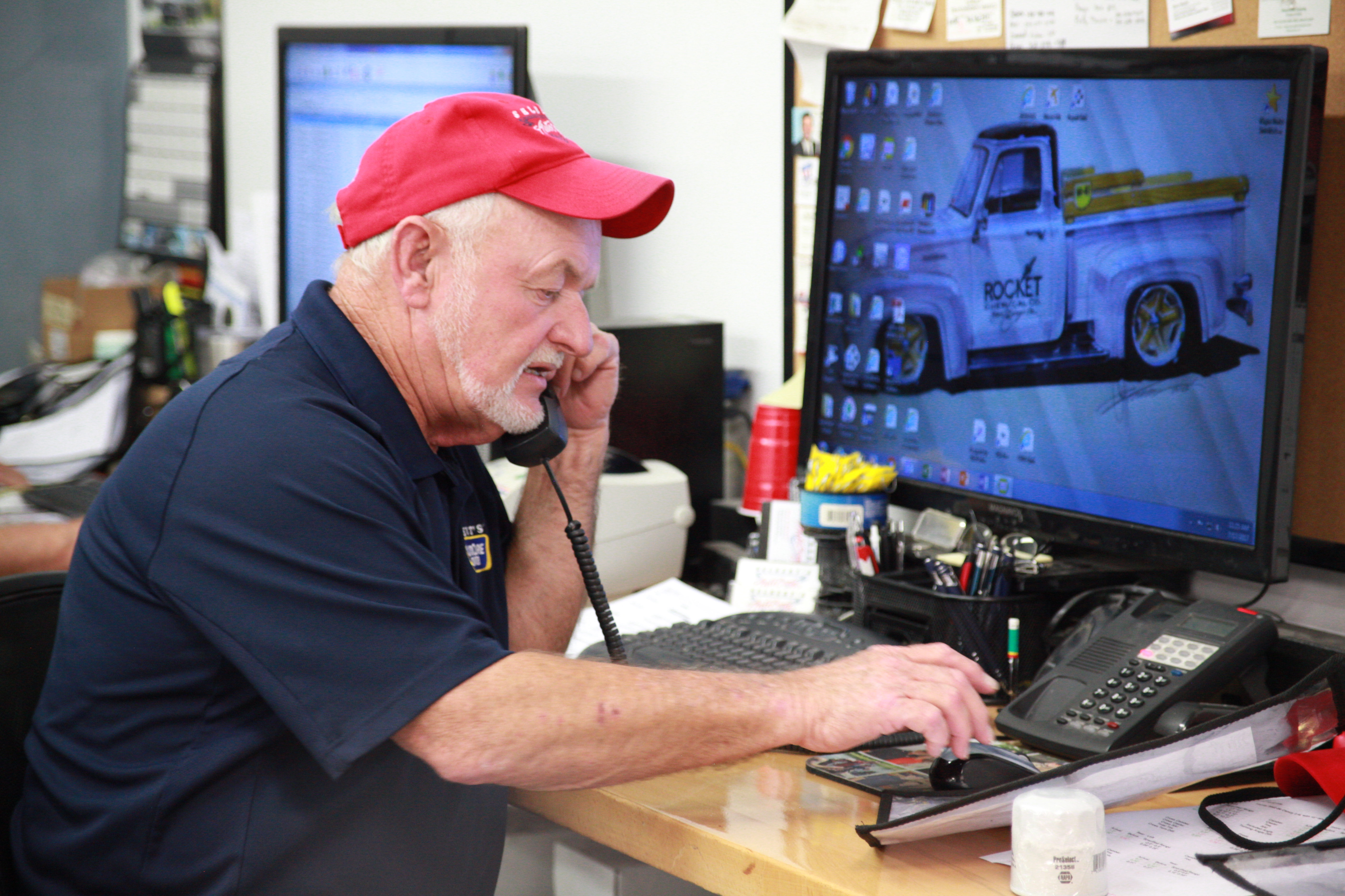 Customer support at Selbert's Auto