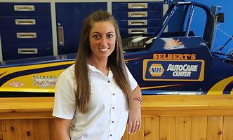 Colleen Wells Selbert's Auto Body Office Assistant