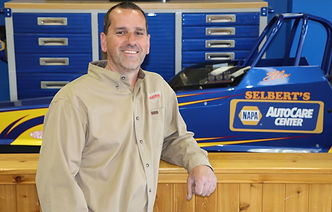 Terry Sebert Owner Selbert's Auto Body