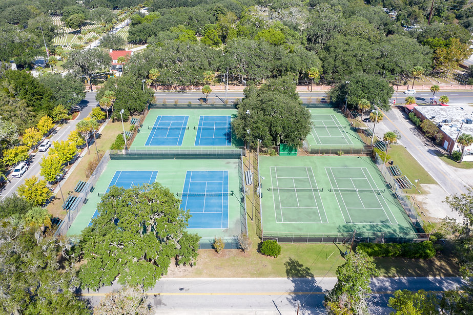 Aerial Downtown Beaufort Tennis.jpg
