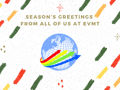 EVMT Christmas Update and Seasons Greetings
