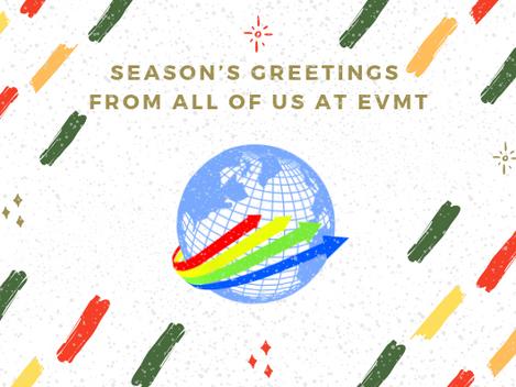 EVMT Christmas Update and Seasons Greetings