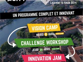 Hack the City @La Cantine et @La Mêlée Numérique 2014