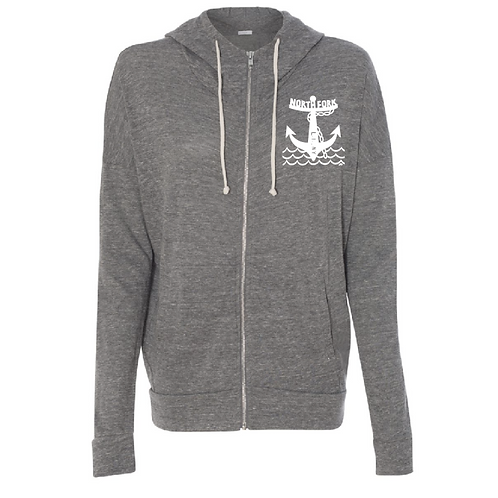 North Fork Anchor - Light Weight Zip (Grey)