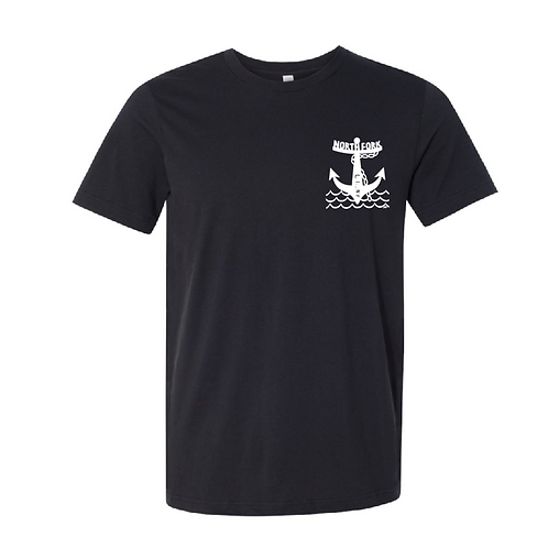 North Fork Anchor Short Sleeve Black 4.2 oz.