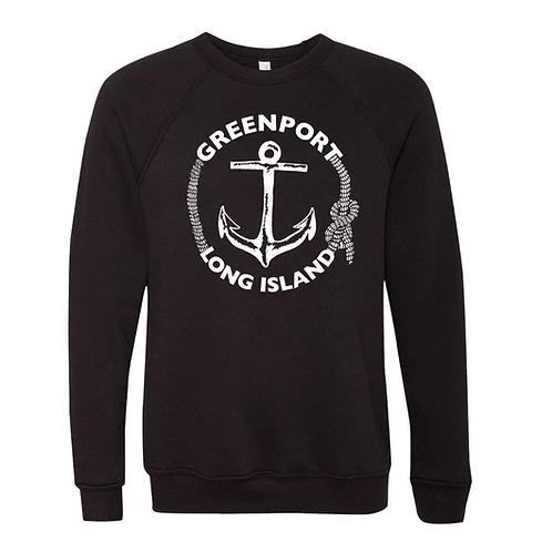 Greenport Classic Anchor Crewneck 6.5 oz.