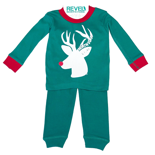 North Fork Reindeer Long SleevePajamas