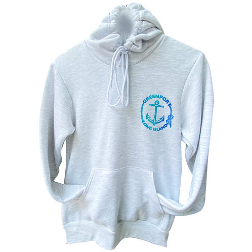 Greenport Anchor Pull Over Hoodie