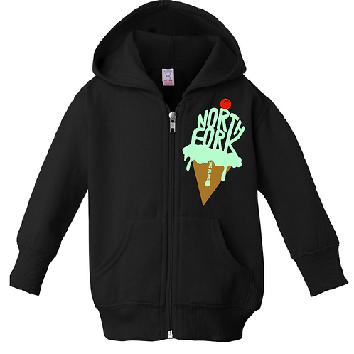 Sweet North Fork Mint Hooded Zip