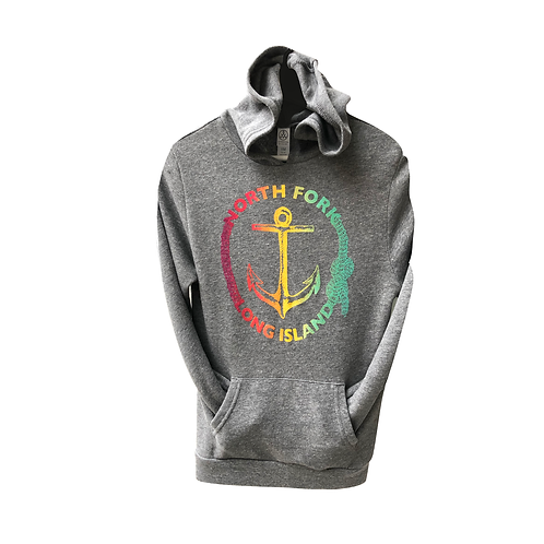 North Fork Sunset Anchor Hoodie