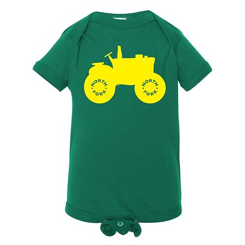 North Fork Tractor Onesie