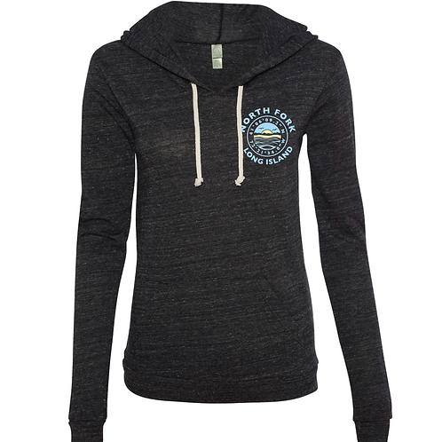 Coordinate Hooded Shirt 4.1 oz. Charcoal