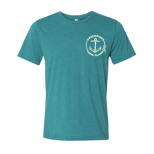 Greenport Anchor Triblend T-Shirt 3.8 oz.