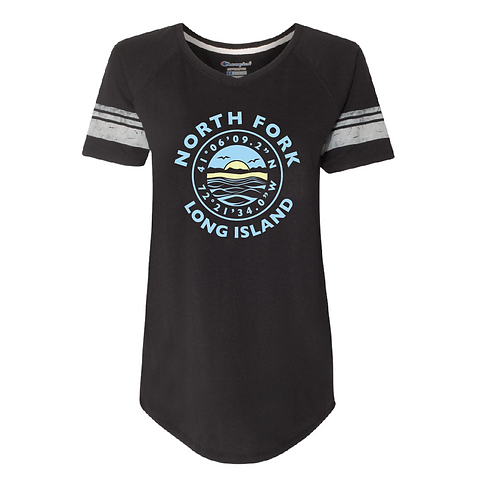 Coordinate Round Hem T-Shirt