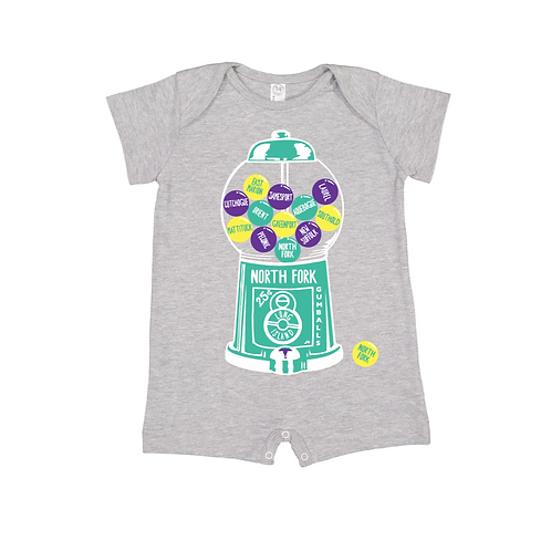 North Fork Gumball Machine Romper