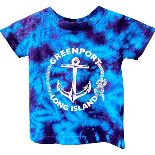 Greenport Anchor in Pool Tie Dye
