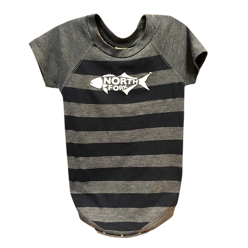 North Fork Fish - Striped Onesies