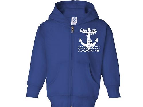 Greenport Anchor - Zip Cobalt