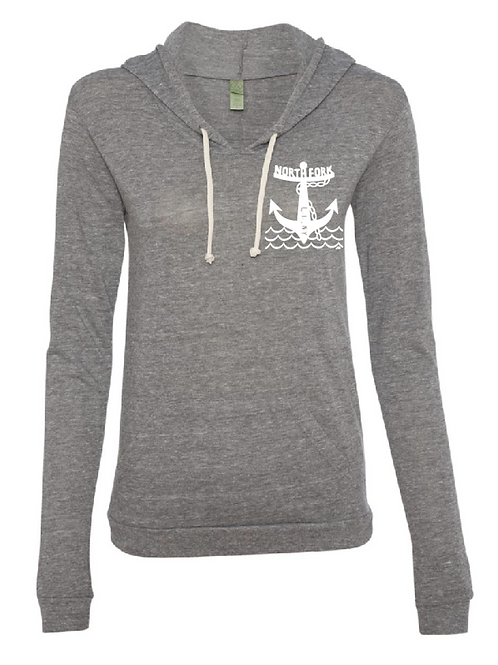 North Fork Anchor - Light Weight Pull Over (Grey)