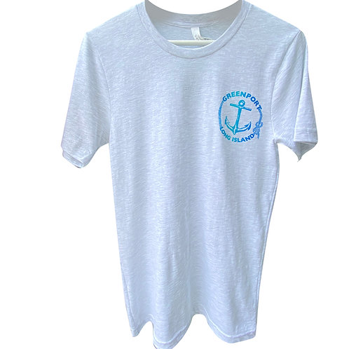 Greenport Anchor Pull T Shirt