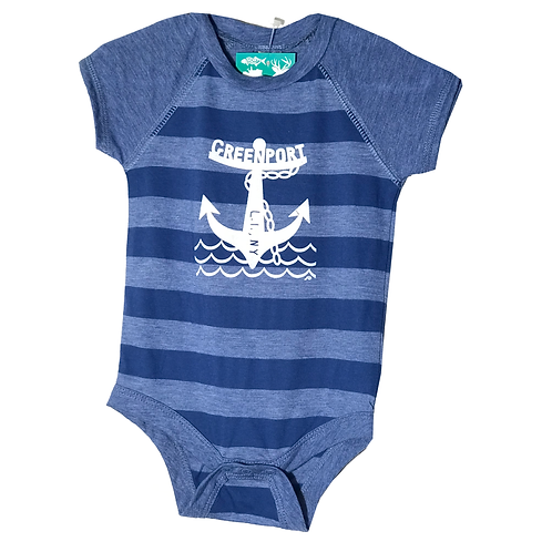 New Wave Greenpoer Anchor Onesie