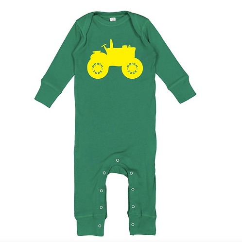 North Fork Tractor Long Legged Onesie