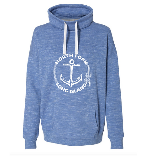 Classic Anchor - Cowl Neck