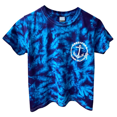 Greenport Anchor in Pool Tie Dye